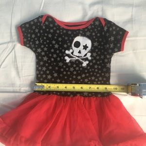 Freeze Dresses - Freeze 6-9 month red and black skirt outfit